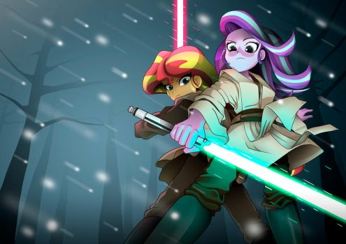 Two padawans of the twilight by ShadeIrving