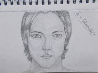 Sam Winchester drawing by whitefox122