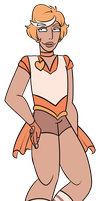 FA:: Sailor Gems - Sailor Morganite by drazzi