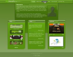 myKreative - Personal Layout by moDesignz