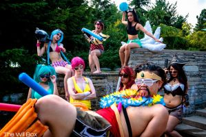 No Pool Party Like a League Pool Party! by SoftBells