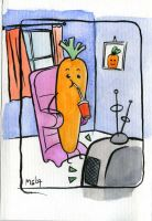 Busy Fruits - Carrot by ideal-crash