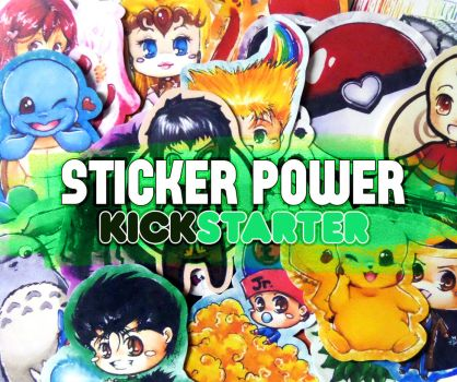 Sticker Power Kickstarter Project by Gezusfreek