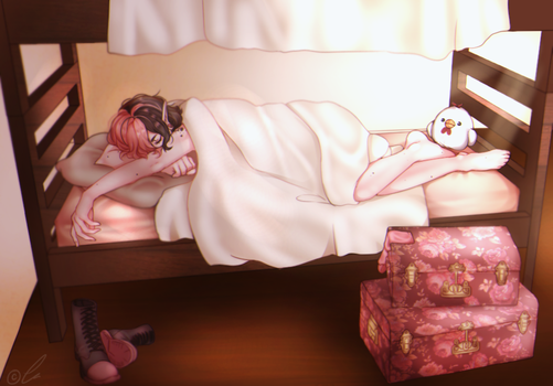 EE: Five More Minutes.. by DicedPears