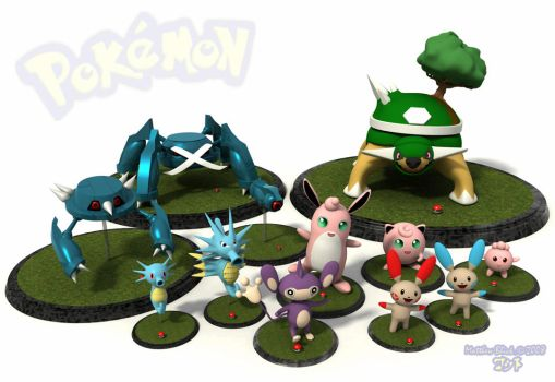 Collection of pokemon by Deejayqt