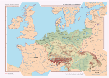 German Confederation Topographic by GutKnut4703
