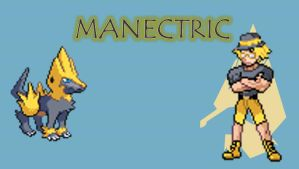 AXC ETZ Profile Pic - Manectric by ZutzuCrobat55