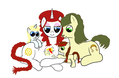 Miss Libusa Family by Frolda