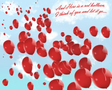 99 Red Balloons Wallpaper 3 by cllo-chan