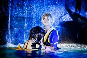 Tidus And Yuna : Suteki Da Ne by SakuMiyuku