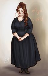 Discworld Witches_Agnes by BlackBirdInk