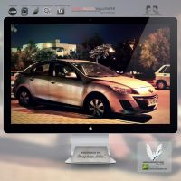 .NIGHT MAZDA. Wallpaper by enemia