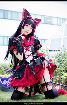 Rory Mercury Gate Cosplay 5 by eefai