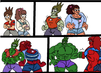 Nate and Katie Hulks by BerryBoiVenoct