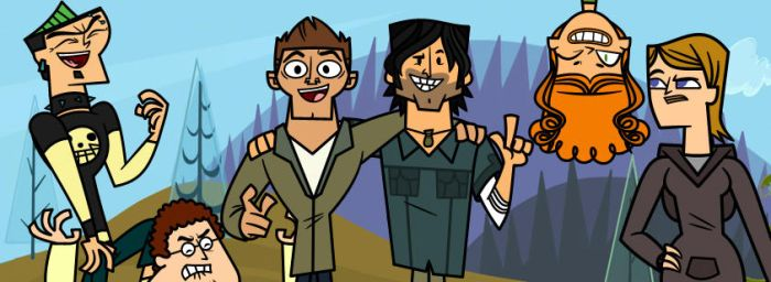 Facebook Official Total Drama Group by charlieXe