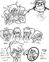 Fop Doodles by fallenjrblue
