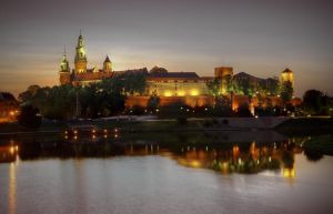 Cracow Royal Castle by jeremi12
