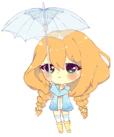 C: Crayon chibi for YumiKF 2 by Madinne