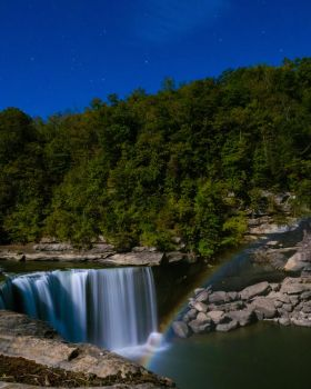 Cumberland Falls Moonbow by stockphotosource