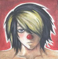 WTF? Emo Clown Dude by myscelaniouse