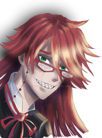 Grell (Black Butler) by HecticWu