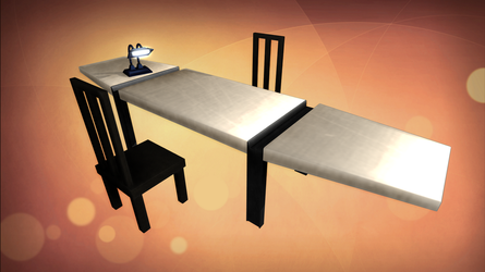[MMD] BSG Armistice Station Table WIP by Riveda1972