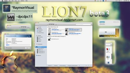 Lion7 beta3 final preview by RaymonVisual