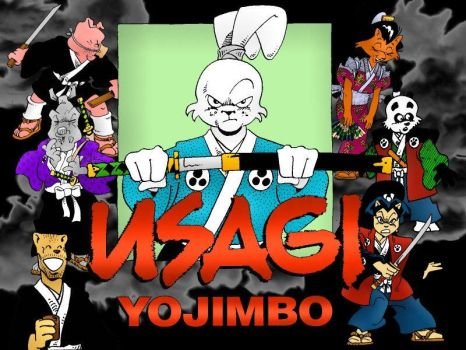 Usagi Yojimbo WP Group by Rustox