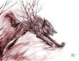 Furious Sprit of the Dark Woods by Lord-FurFur