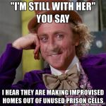 Wonka's thoughts on the Locking her up by mrbill6ishere