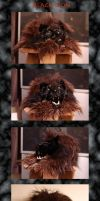 Black Lion Mask by Zhon