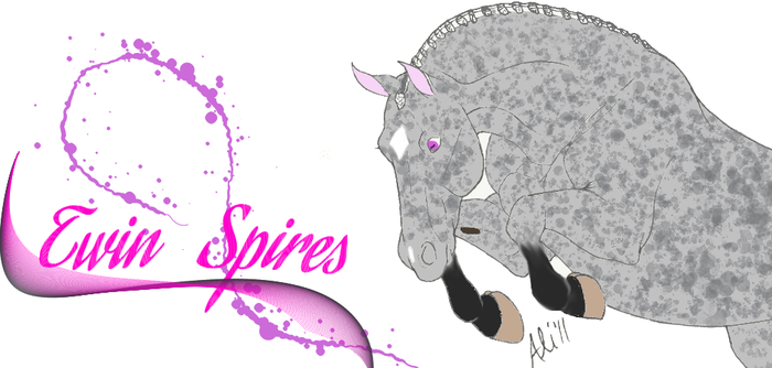 Twin Spires _ Horse OC by Starshine1ful