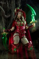 Valeera Sanguinar- World of Warcraft 2 by Hidrico
