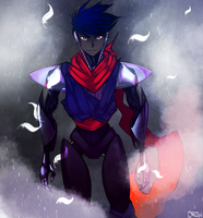 Shadowman (helmetless) by icespicespace
