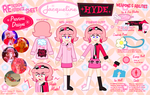 Re-Design Sheet: Jacqueline Hyde by MU-Cheer-Girl