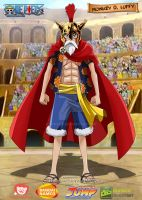Monkey D Luffy Gladiator by donaco