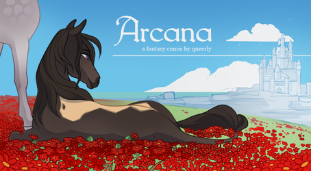 TEASER | ARCANA by queerly