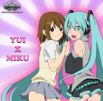 Yui and Miku Moe Power by omega-deviant