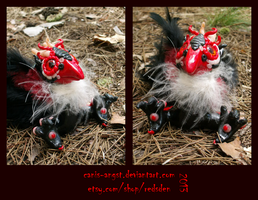 SOLD: Vulture Tengu by Canis-Angst