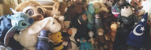 Plush-O -Rama!!! by LeatherHead72