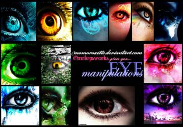 Presenting EYE MANIPULATIONS by MOMOroxette