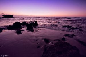 Purple sunset by Yair-Leibovich