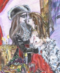 Pirate's Christmas-_couple det by Mirianes