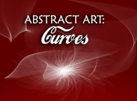 Abstract Art Brushes: Curves by fiftyfivepixels