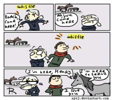 The Witcher 3, doodles 303 by Ayej