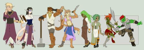 RPG Species by kagari-chan