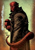 Hellboy by HectorRubilar