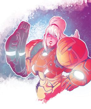 Samus Returns by radd