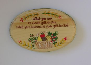 Small Custom Plaque by sweetpie2