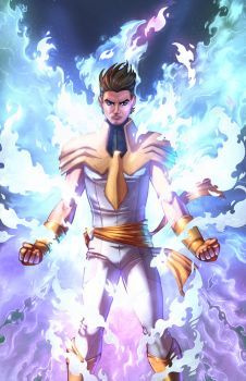 Jeremy Summers, White Phoenix of the Crown by deviantartbrowsa